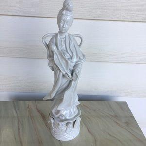 Vintage HOMCO Asian Woman Figurine